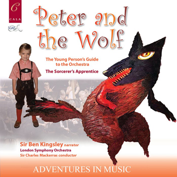 Peter and the Wolf album click to view